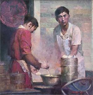 "HONGNIAN ZHANG, ""Steamed Dumplings"""