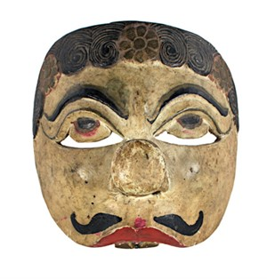 Half Mask (Pug Nose-Two Teeth), 19th c.