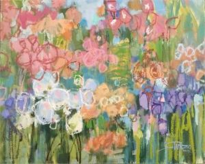 In The Garden by Arleen Turzo
