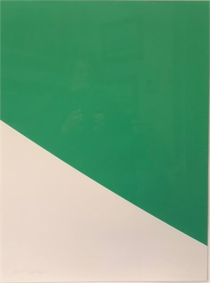Green Curve   by Elsworth Kelly