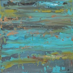 Oceans 48 by Anita Lewis