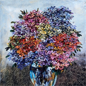Floral - Hydrangea W/Vase 186377, 2019