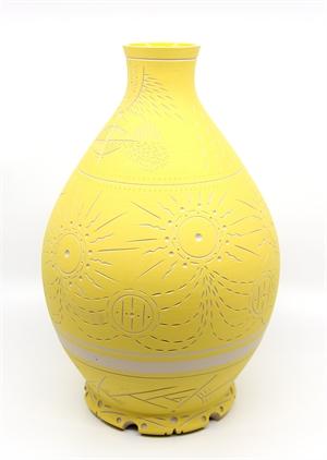 Large Yellow Vase