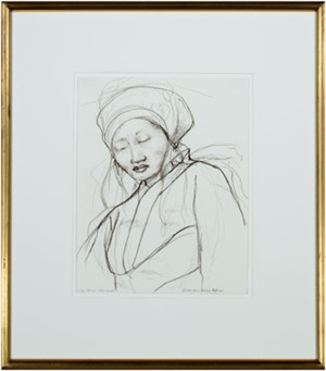 "Original sketch for ""God in All"", 1994"