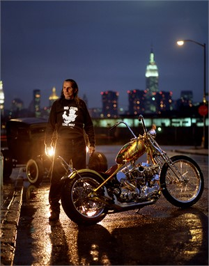 03073 Indian Larry Lone Wolf Color, 2003