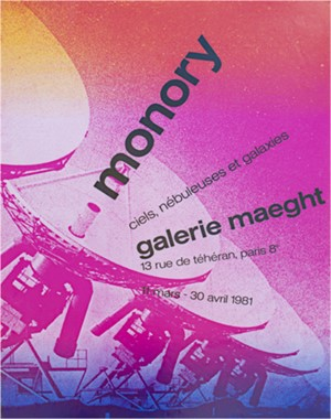 Monory - Galerie Maeght, 1981