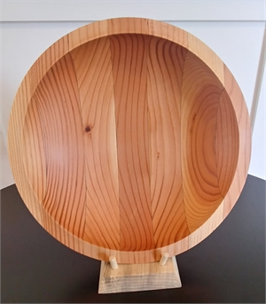 Douglas Fir Contruction Beam Salad Bowl, 2019