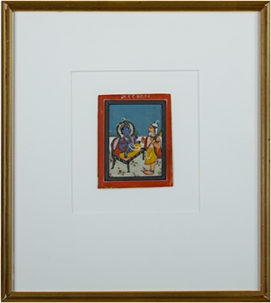 from the late 19th Century, Jaipur School Miniature, c 1890