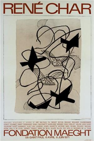 "Foundation Maeght Braque ""Rene Char"", 1971"
