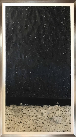 Night Sky and Starfish, 2019