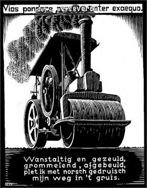 Emblemata - Steamroller, 1931