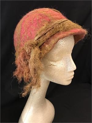 """Hat, Silk & Wool Cloche """"M"""""""