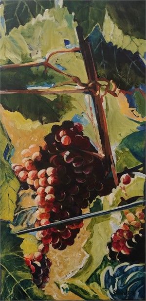 Grapes on the Vine, 2018