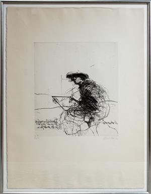 Le Peintre Attentif (27/50), 1973