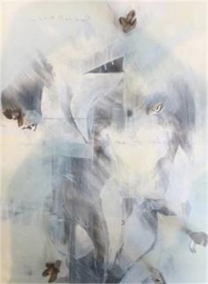 Collaboration with Karoline Schleh Flora Fumage Series, 2017