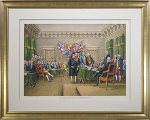 Declaration of Independence, c. 1876