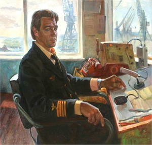 Vladimir Shpakovsky, Controller in the Port Gtorgui-Dezh