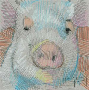 Mini Farm: Pig No. 8