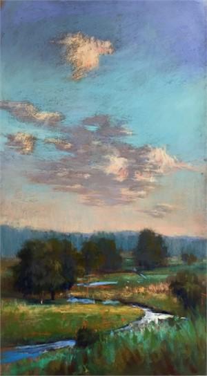 Winding Stream by Linda Richichi