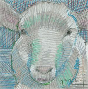 Mini Farm: Sheep No. 4