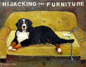 "Hijacking the Furniture, from ""Gimme Comfort-July 2019"""
