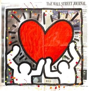 WSJ Series POP Art Love , 2019