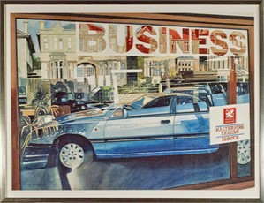 Car Dealership, Bath U.K., 1991