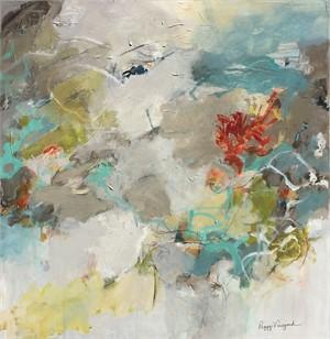Monet's Garden I by Peggy Morriss Vineyard