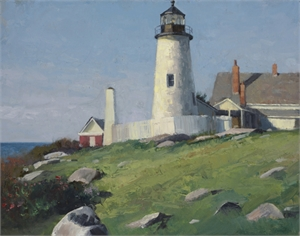 Pemaquid Light study