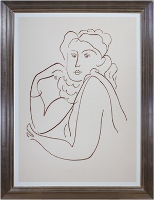 Woman w/Ruffled Collar (from Florilege des Amours de Ronsard Portfolio), 2007