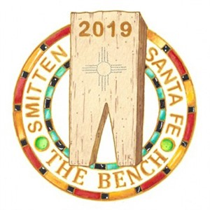 The Bench Registration with enamel pin