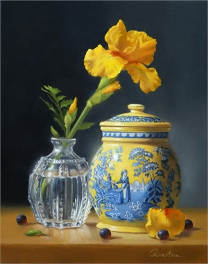 "ROSE ANN BERNATOVICH, ""A Moment in Yellow"""