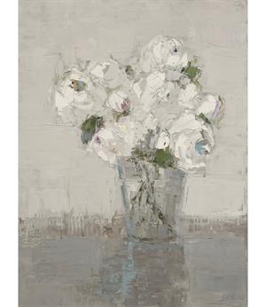 White Bouquet, White Room, 2020