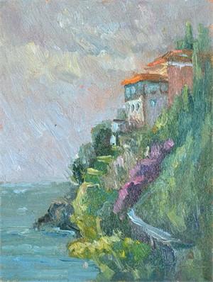 Castle In the Sky Near Amalfi