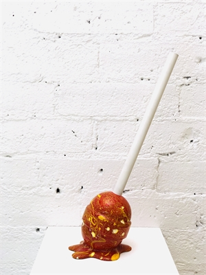 The Sweet Life, small, brown Lollipop, 2019