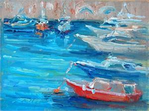 Red Boat in Amalfi