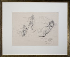 Three Studies (Seated Figure, Venus de Milo, Winged Victory of Samothrace), 1979