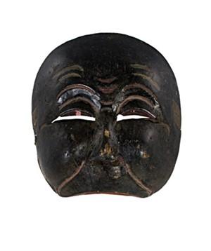 Half-Mask, slanted eyes, 19th Century