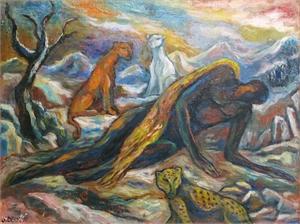Angel Cayendo (Fallen Angel), 1990