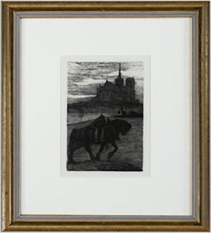 Horse and Rider At Dusk, c. 1920