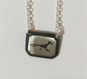 Necklace - Sterling Silver Roadrunner Medium, 2020
