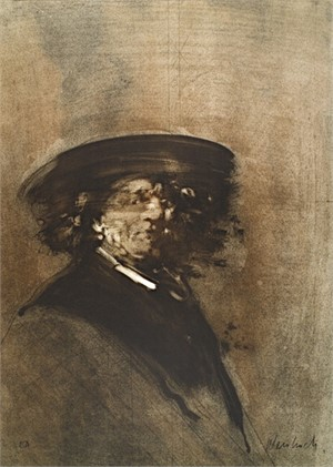 Portrait of Rembrandt, 1970