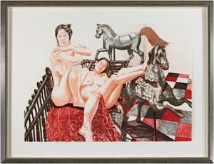 Models & Horses (15/140), 1992