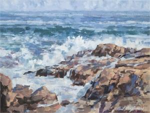 Waves at Bass Rocks, 2018