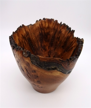 Elm Burl Vase #279 by Darrel Kellerman