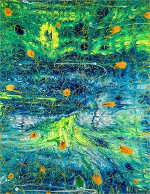 Monet's Garden by Andrea Dasha Reich