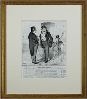 Caricaturana (Plate No. 27) DL 381 Robert Macaire Negociant, 1837