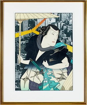 Thunder & Shower I, After Yoshitaki (Japanese Series) (263/300), 1979