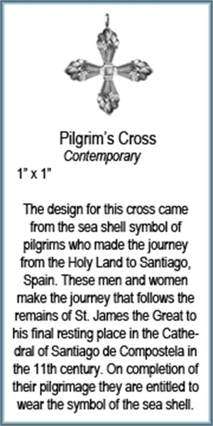 Pendant - Pilgrims Cross - 9315, 2019