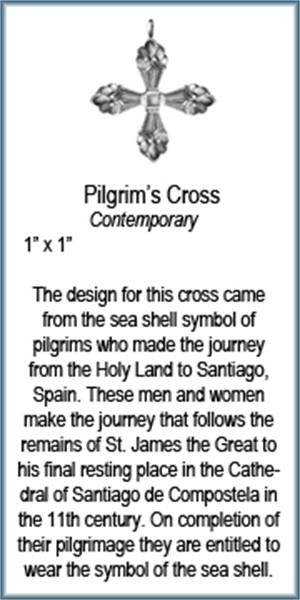 Pendant - Pilgrims Cross - 9315, 2019